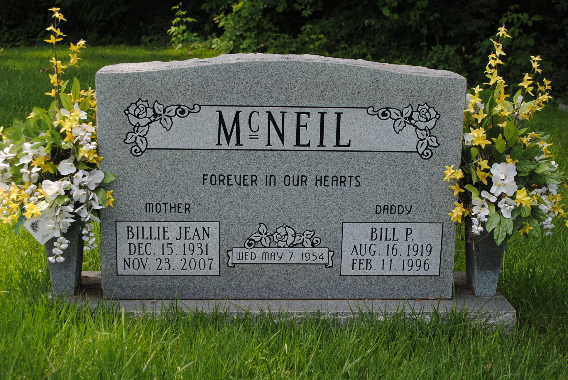 Billy Jean McNiel