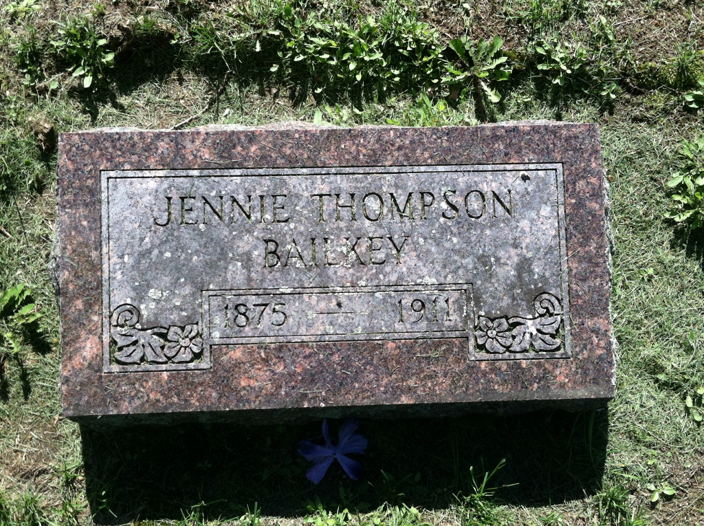Jennie Olava <i>Thompson</i> Bailkey