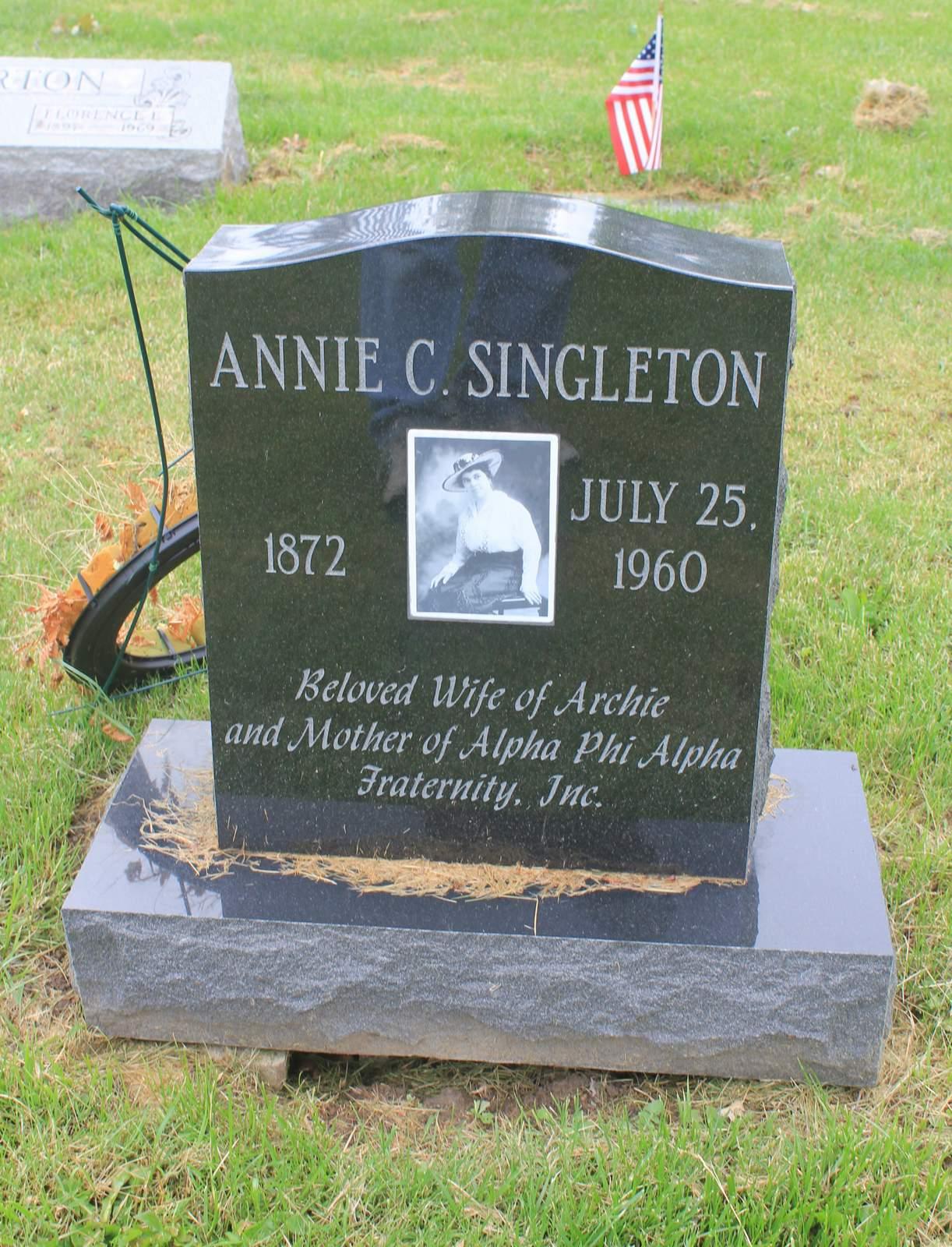 Annie c singleton 1872 1960 find a grave memorial view original biocorpaavc Gallery