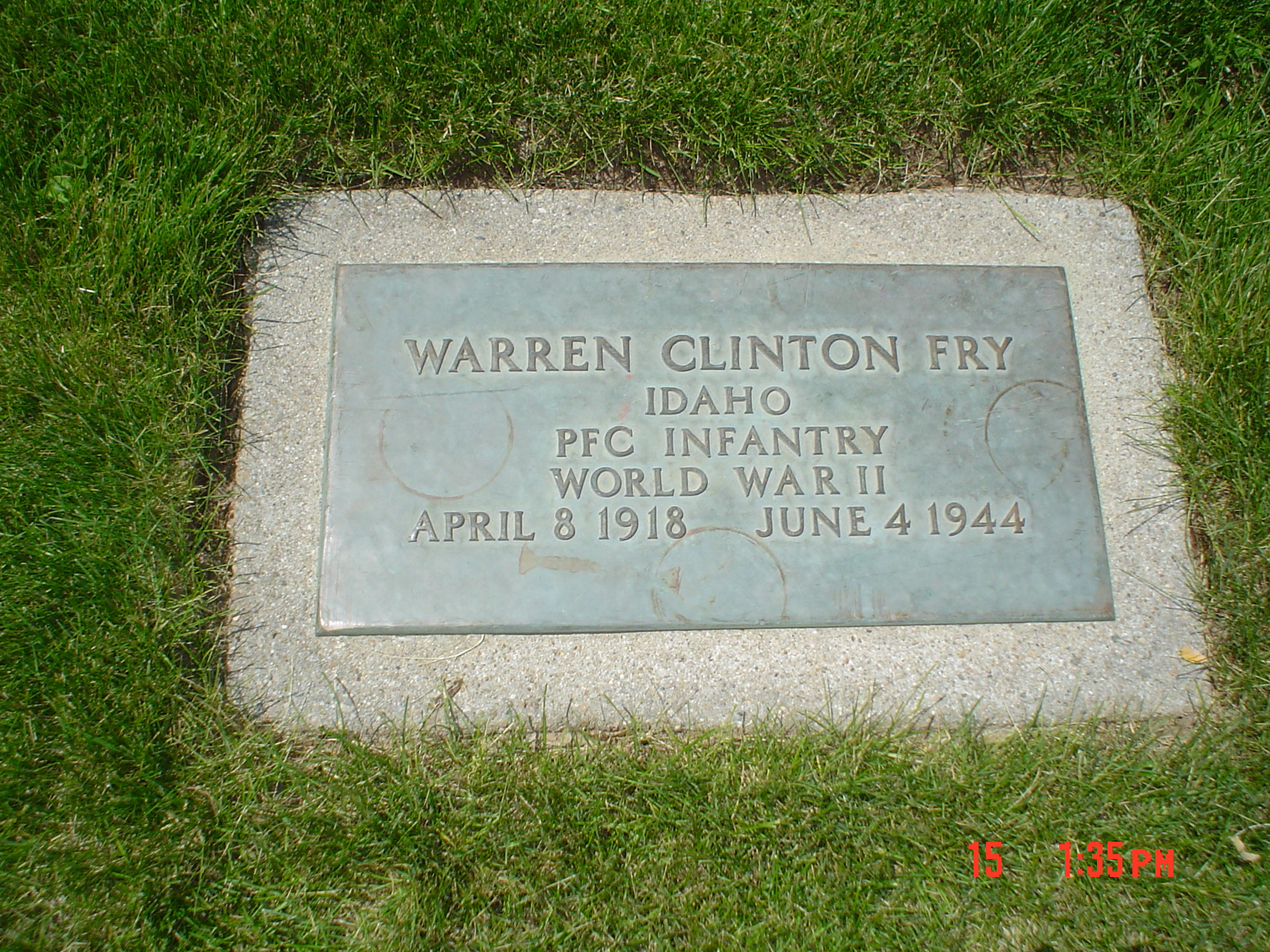Warren Clinton Fry