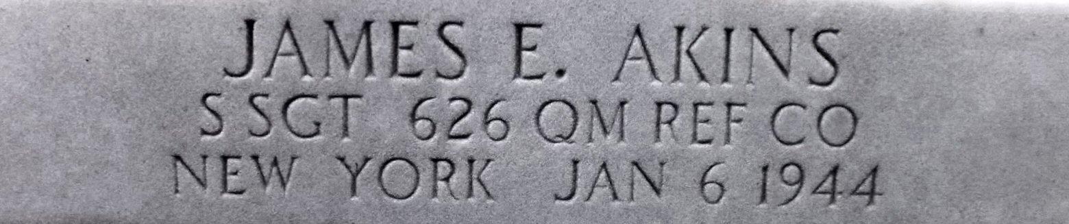 SSgt James E Akins