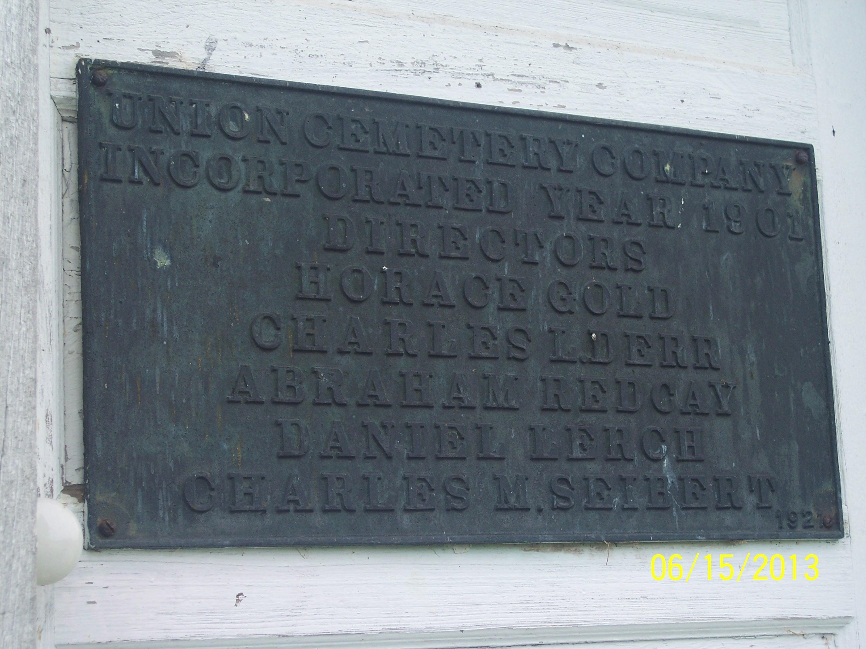 Stitzel Cemetery