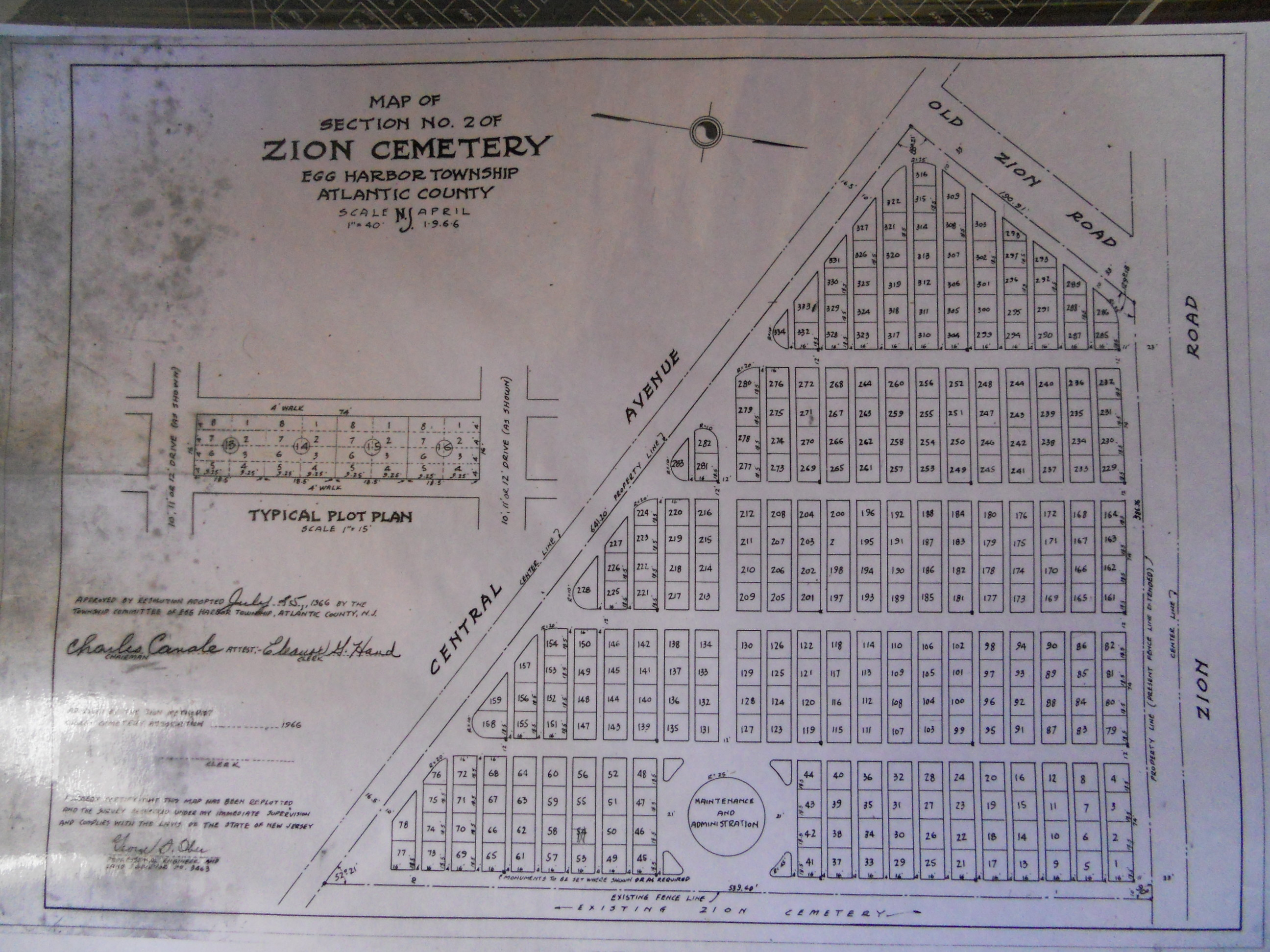 Zion Cemetery in Bargaintown, New Jersey - Find A Grave Cemetery