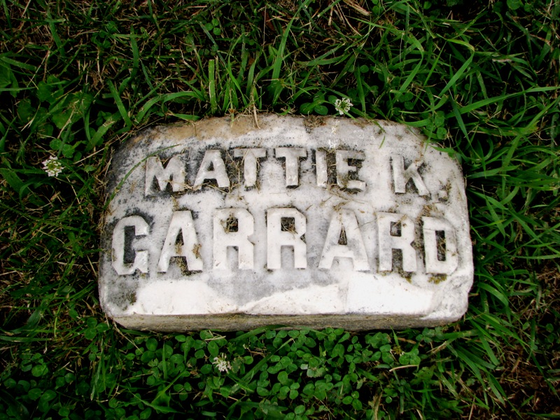 Mattie Bedford <i>Kennedy</i> Garrard
