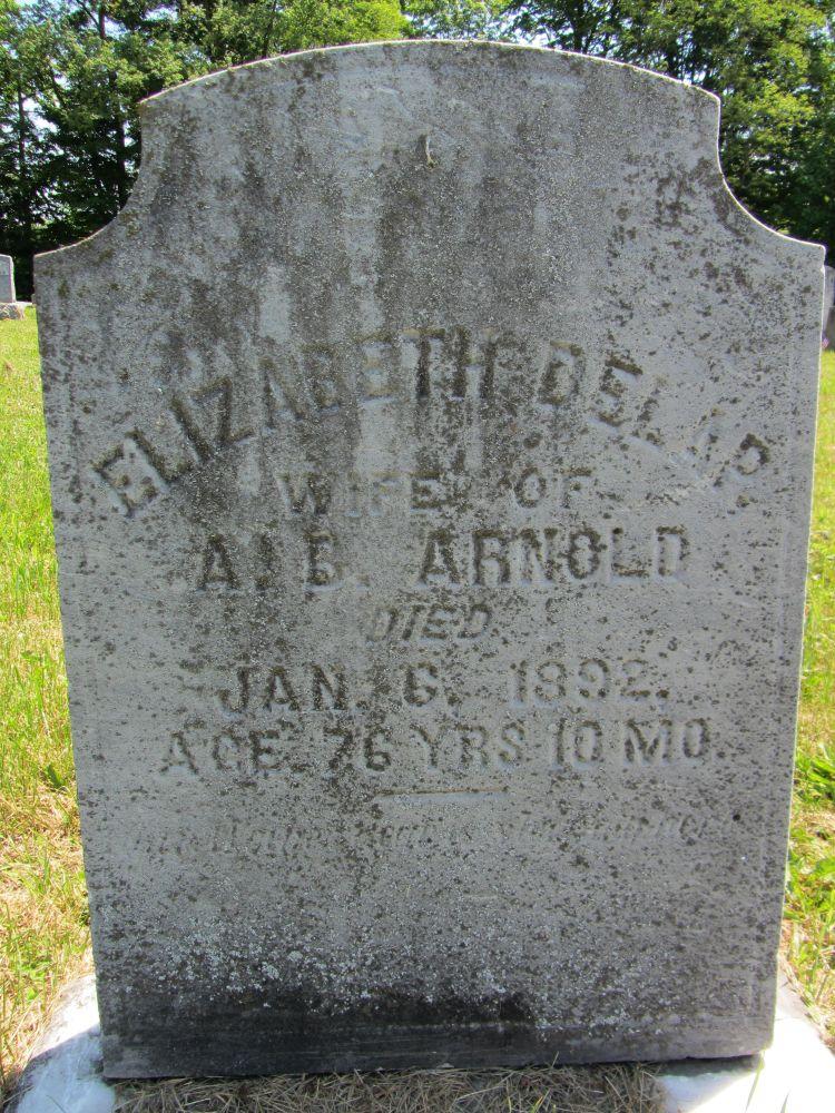Elizabeth <i>Delap</i> Arnold