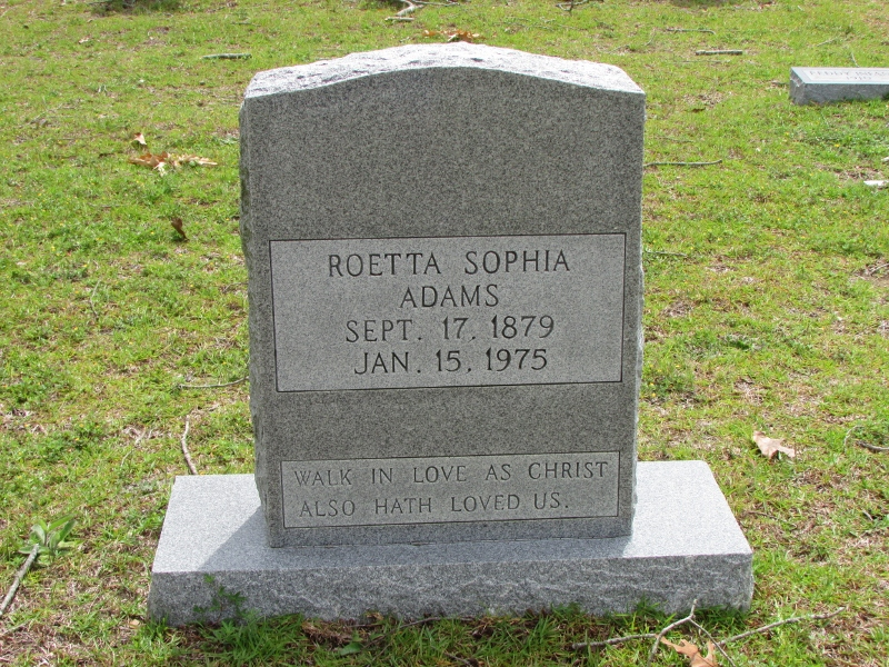 Roetta Sophia Adams