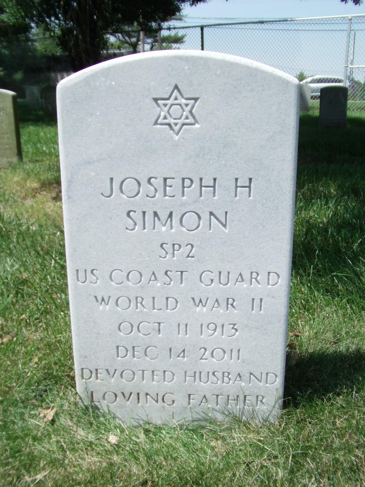 Joseph H Joe Simon