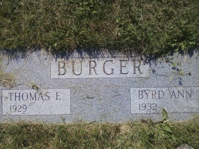 Thomas E Burger