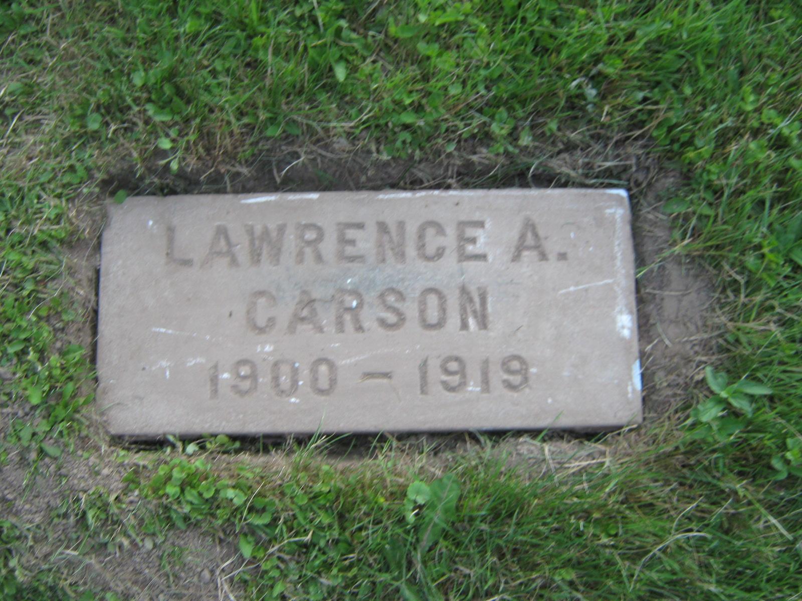 Lawrence Alonzo Carson