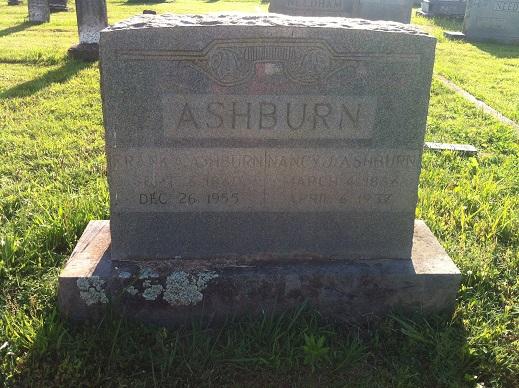 Nancy Jane <i>Needham</i> Ashburn