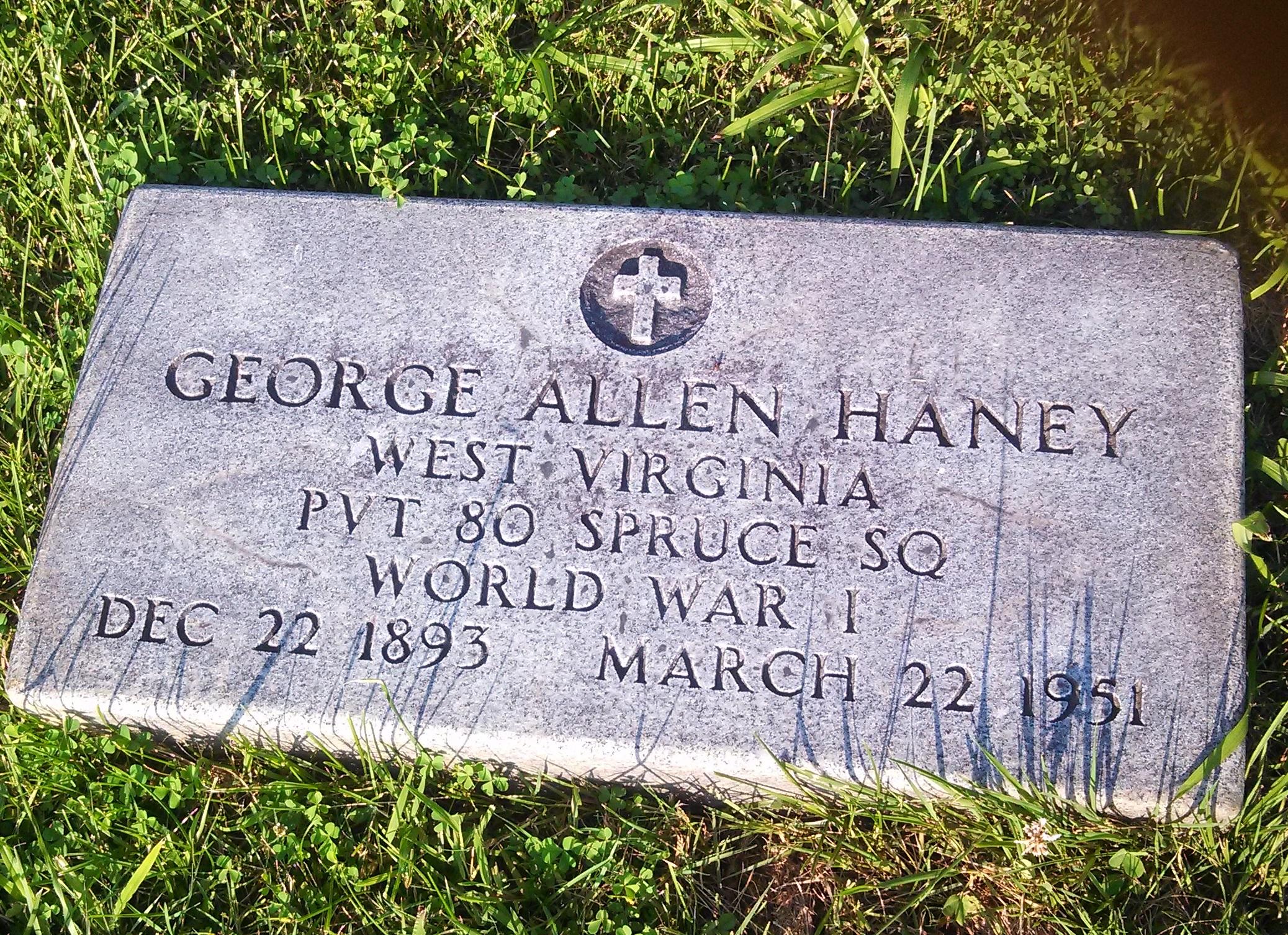 George Allen Haney