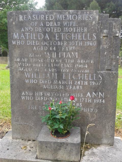 Ann <i>Jones</i> Etchells