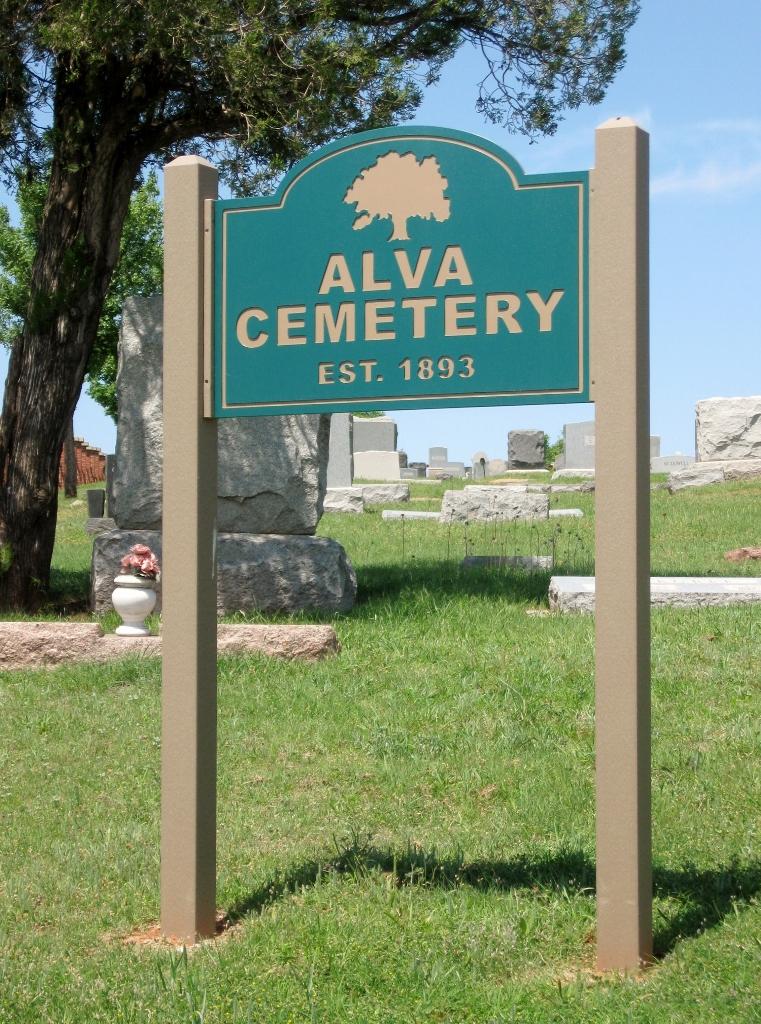 Alva Municipal Cemetery