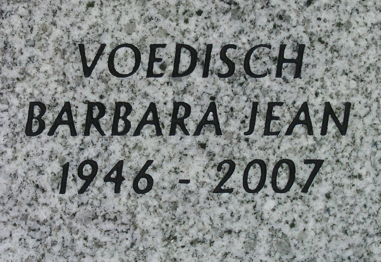 Barbara Jean Voedisch