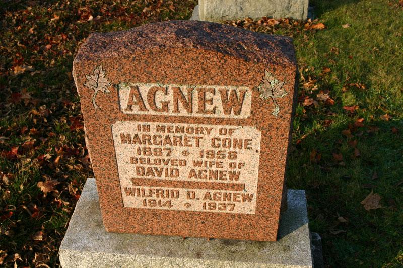 Margaret <i>Cone</i> Agnew