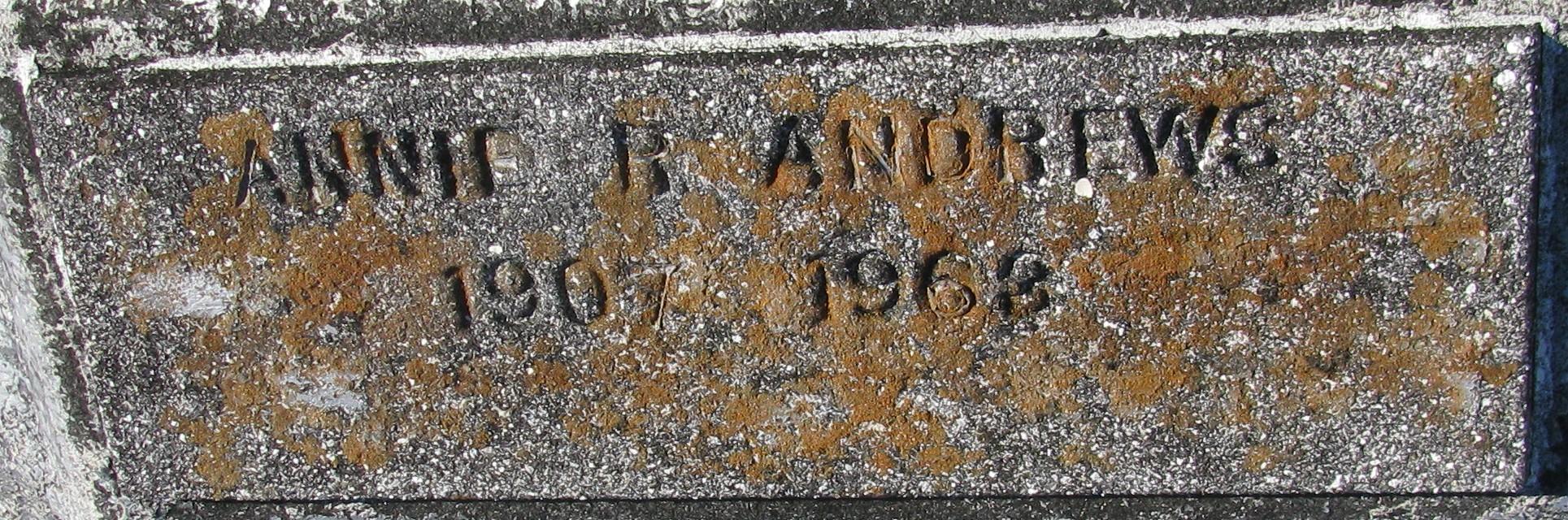 Annie Roderick Andrews