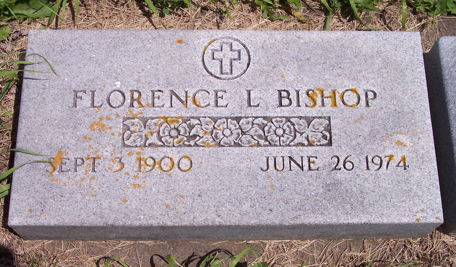 Florence L <i>Wolf</i> Bishop