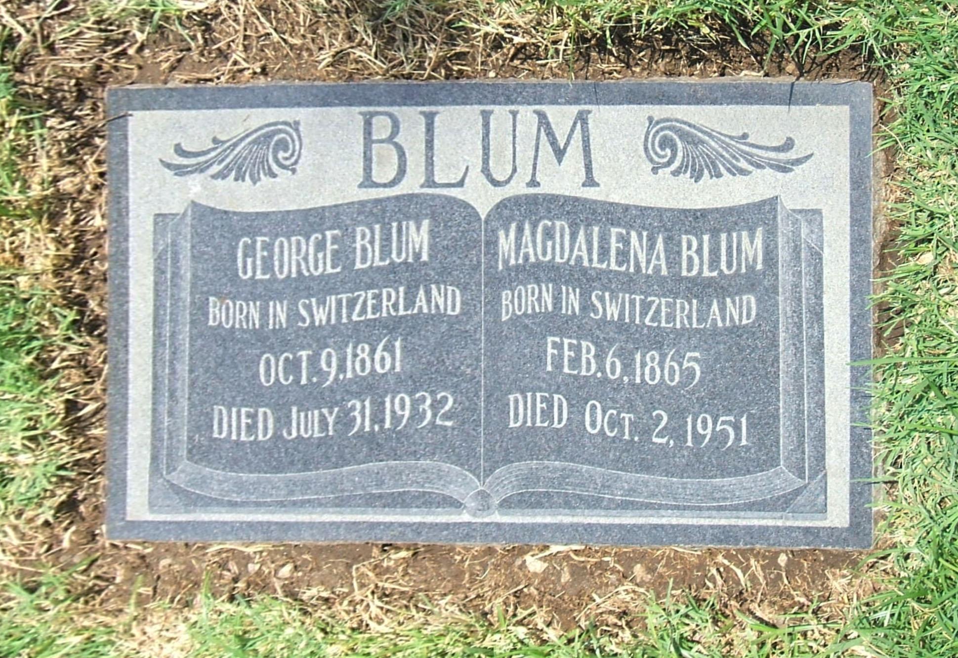 Magdalena <i>Greutman</i> Blum