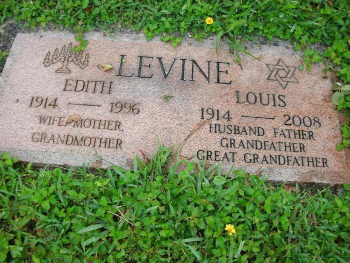 Edith <i>Baum</i> Levine