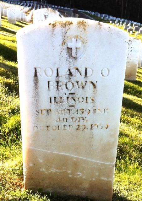 Sgt Roland O Brown