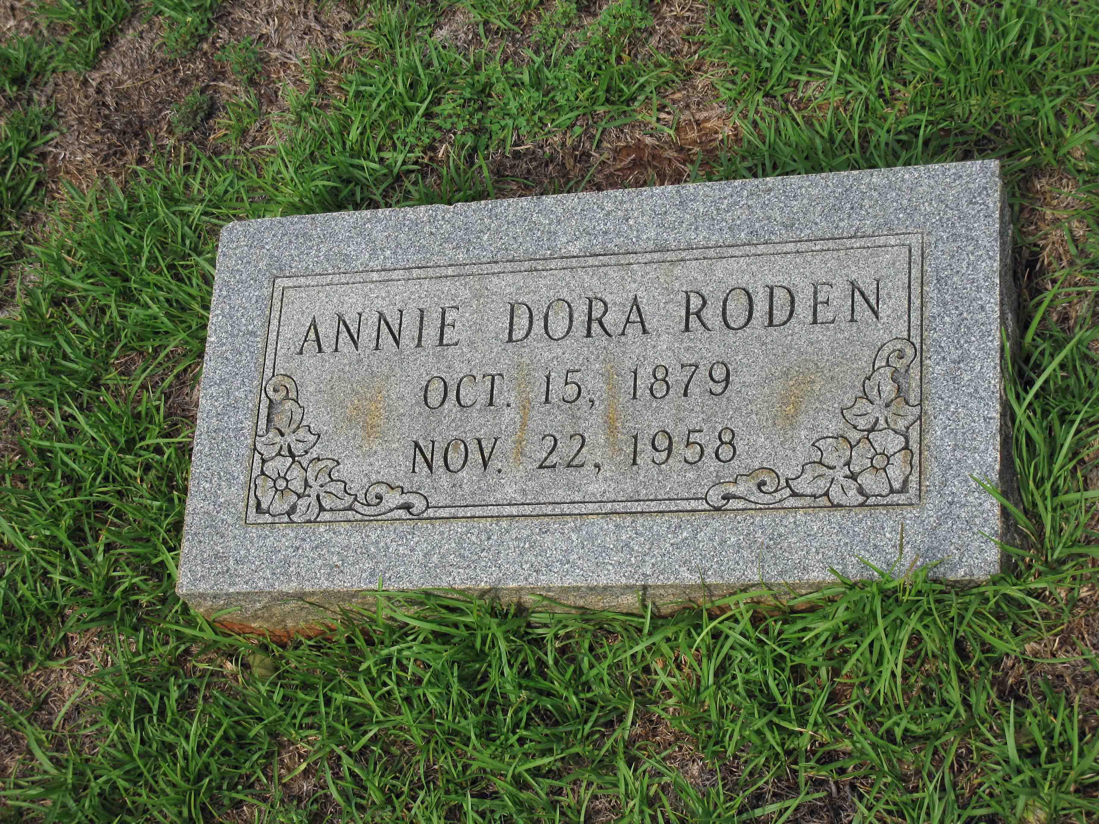 Annie Dora Roden