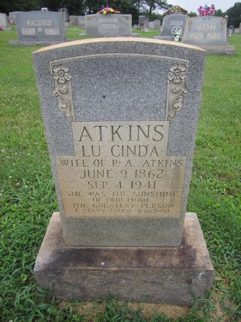 Lucinda <i>Eads</i> Atkins
