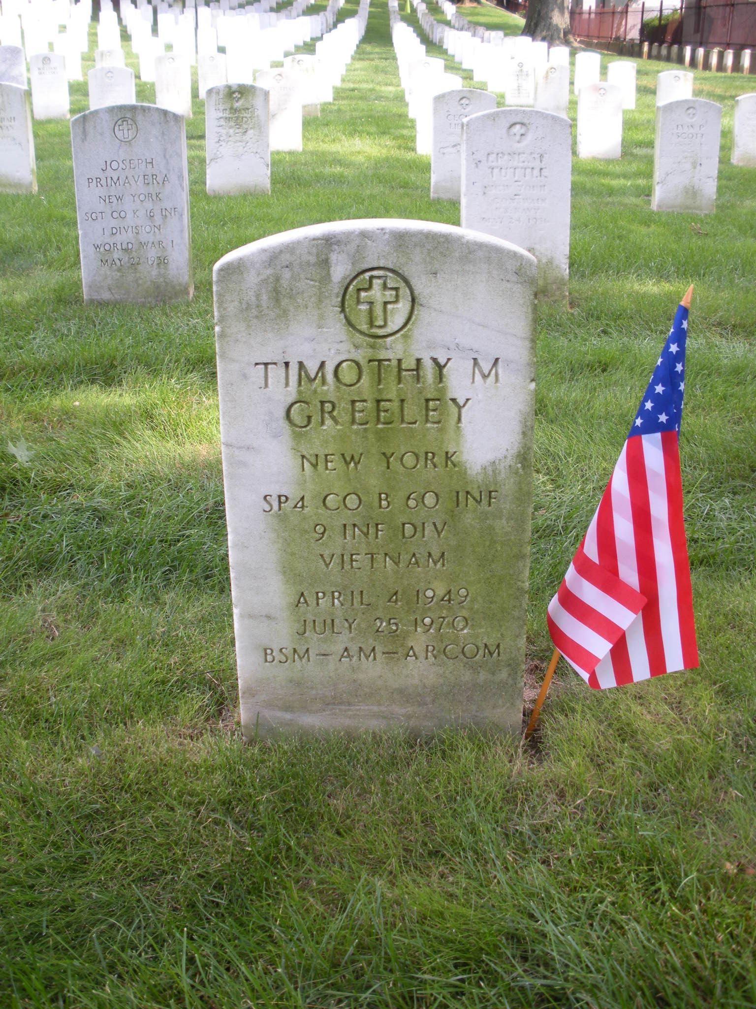 Spec Timothy Martin Greeley