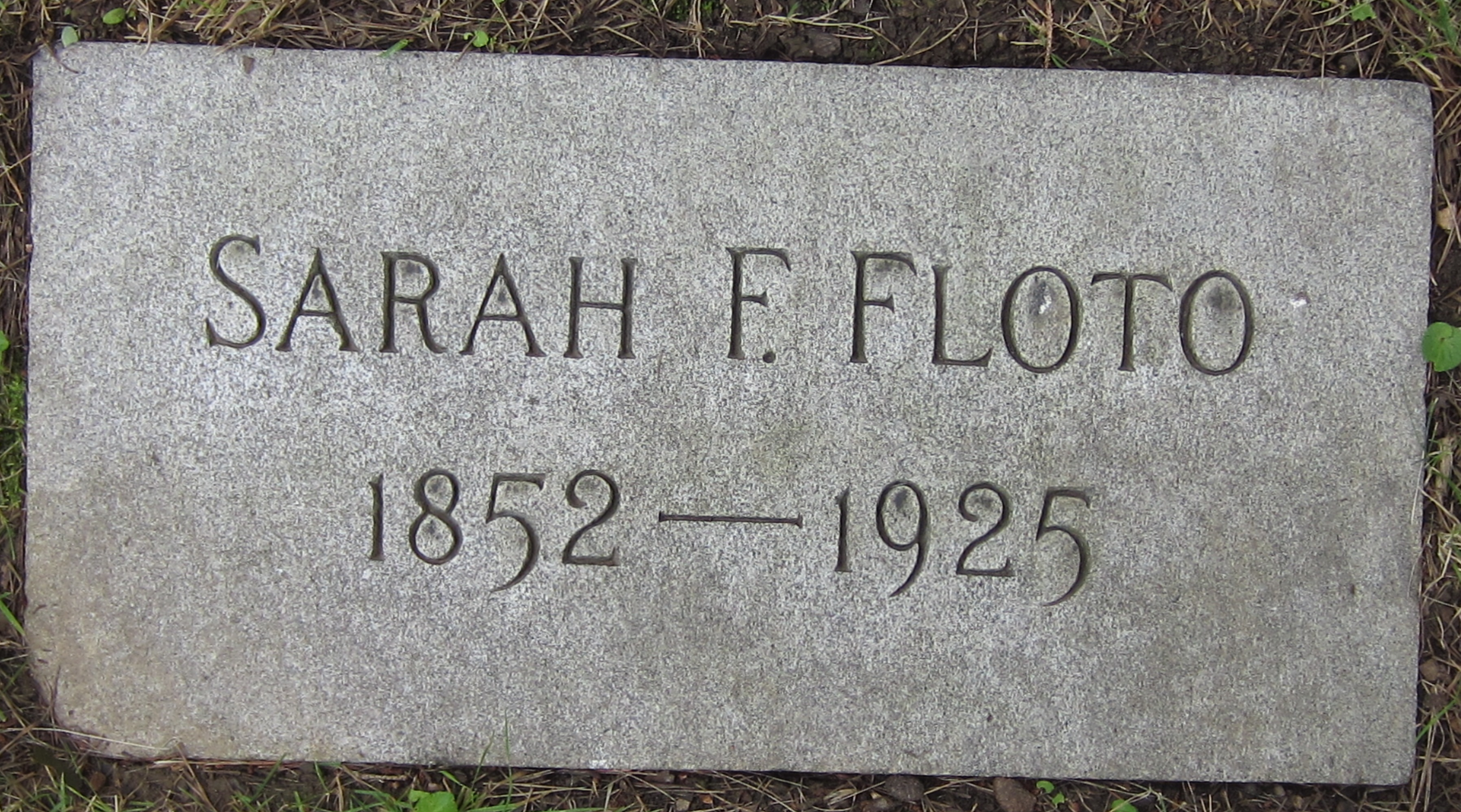 Sarah F. Floto