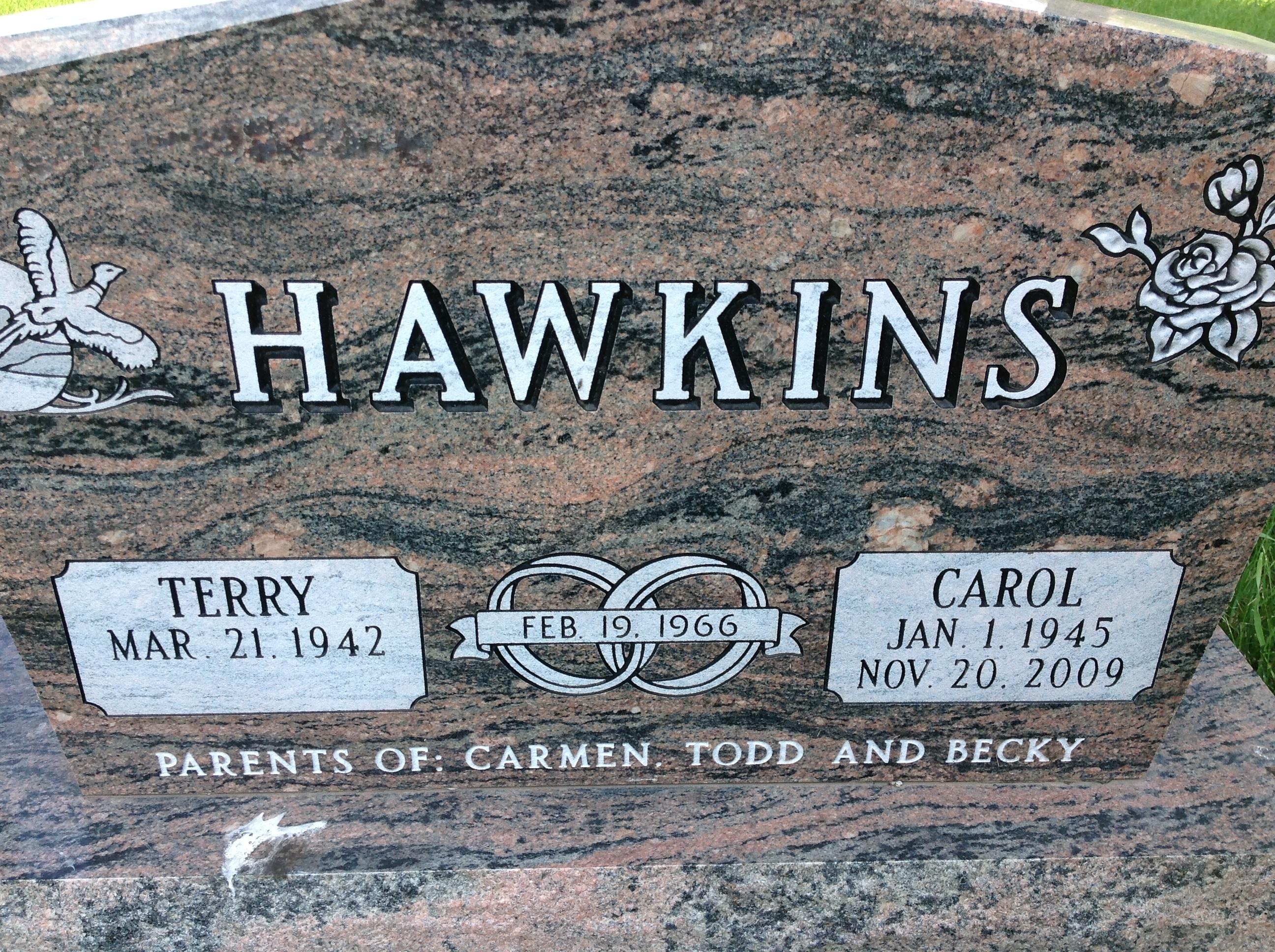 Carol Ann <i>Milbrandt</i> Hawkins