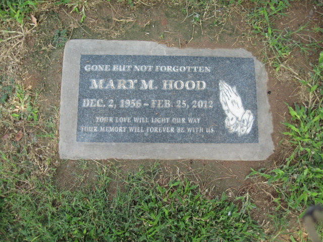 Mrs Mary Matilda May Till <i>Peck</i> Hood