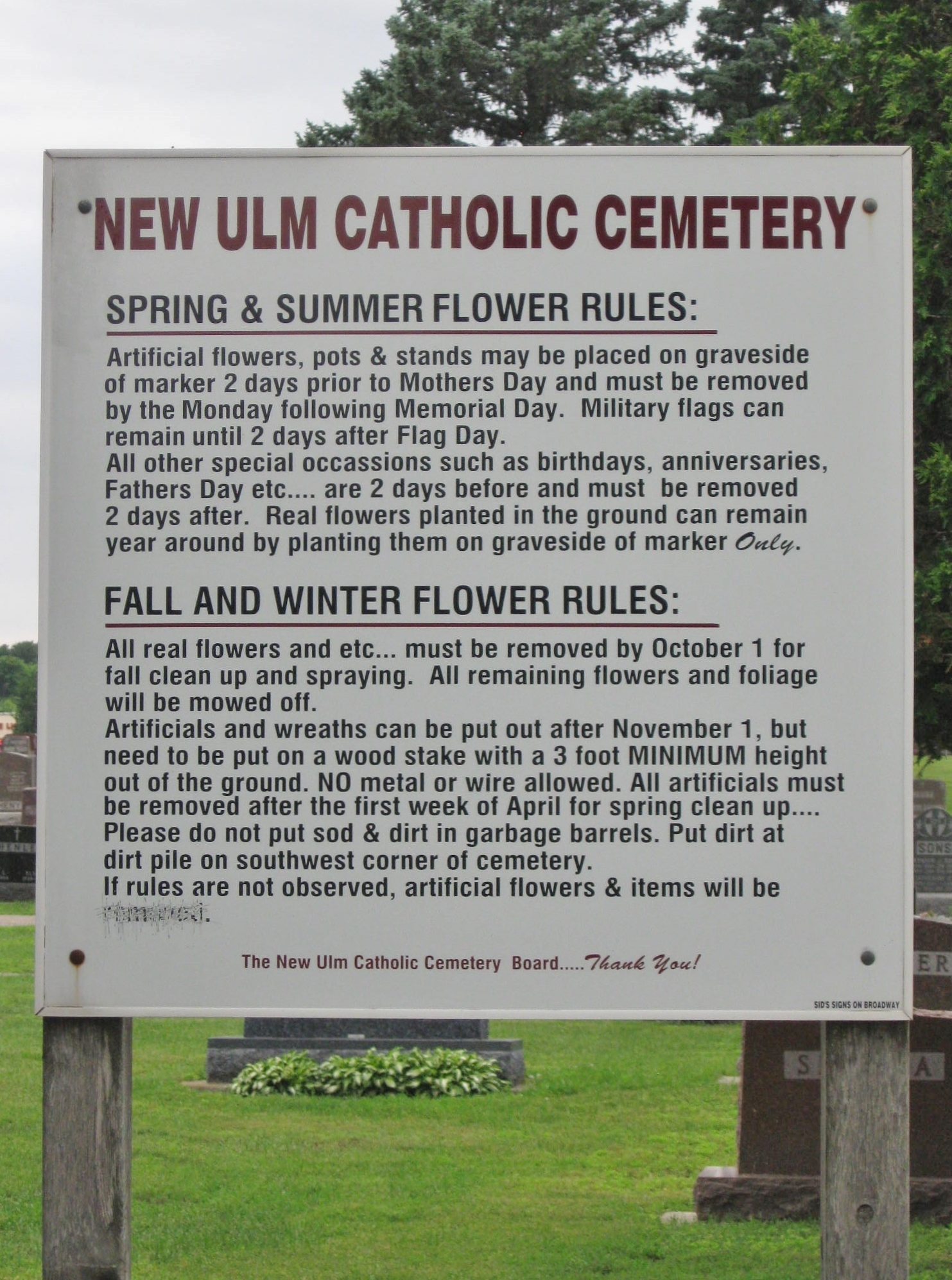 New Ulm Catholic Cemetery