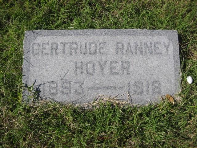 Gertrude <i>Ranney</i> Hoyer