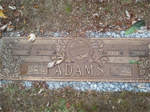 Clara Elizabeth <i>McNutt</i> Adams