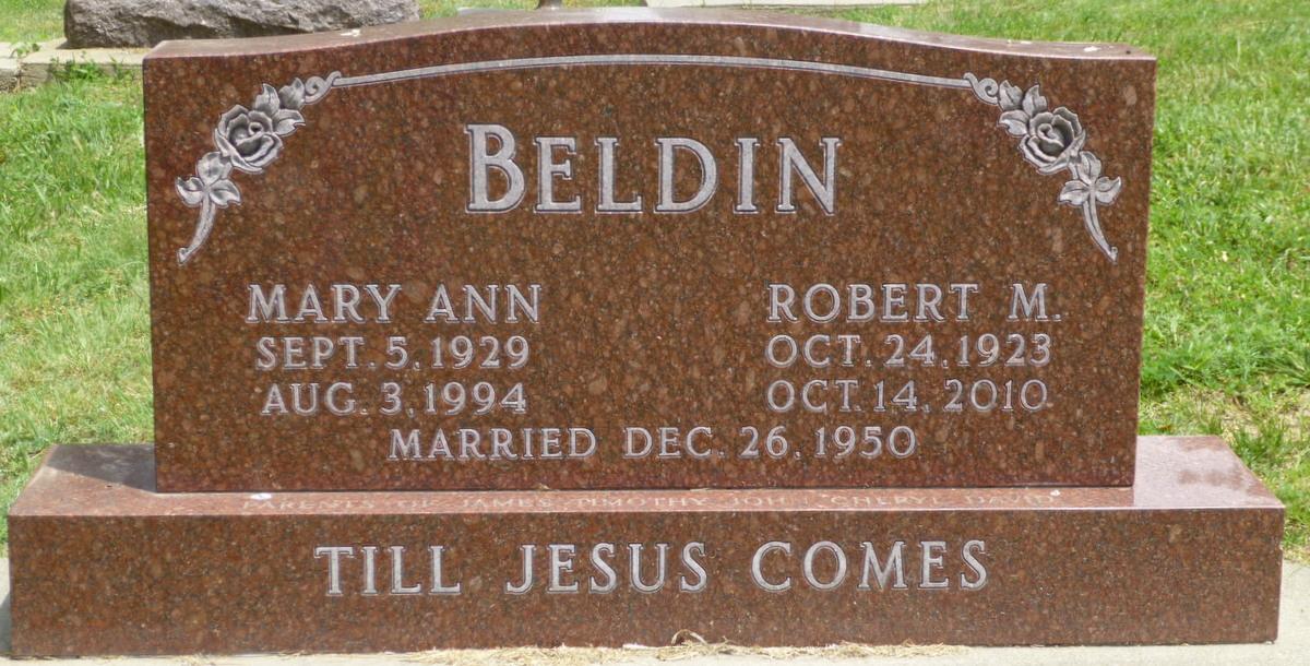 Mary Ann <i>Johnson</i> Beldin
