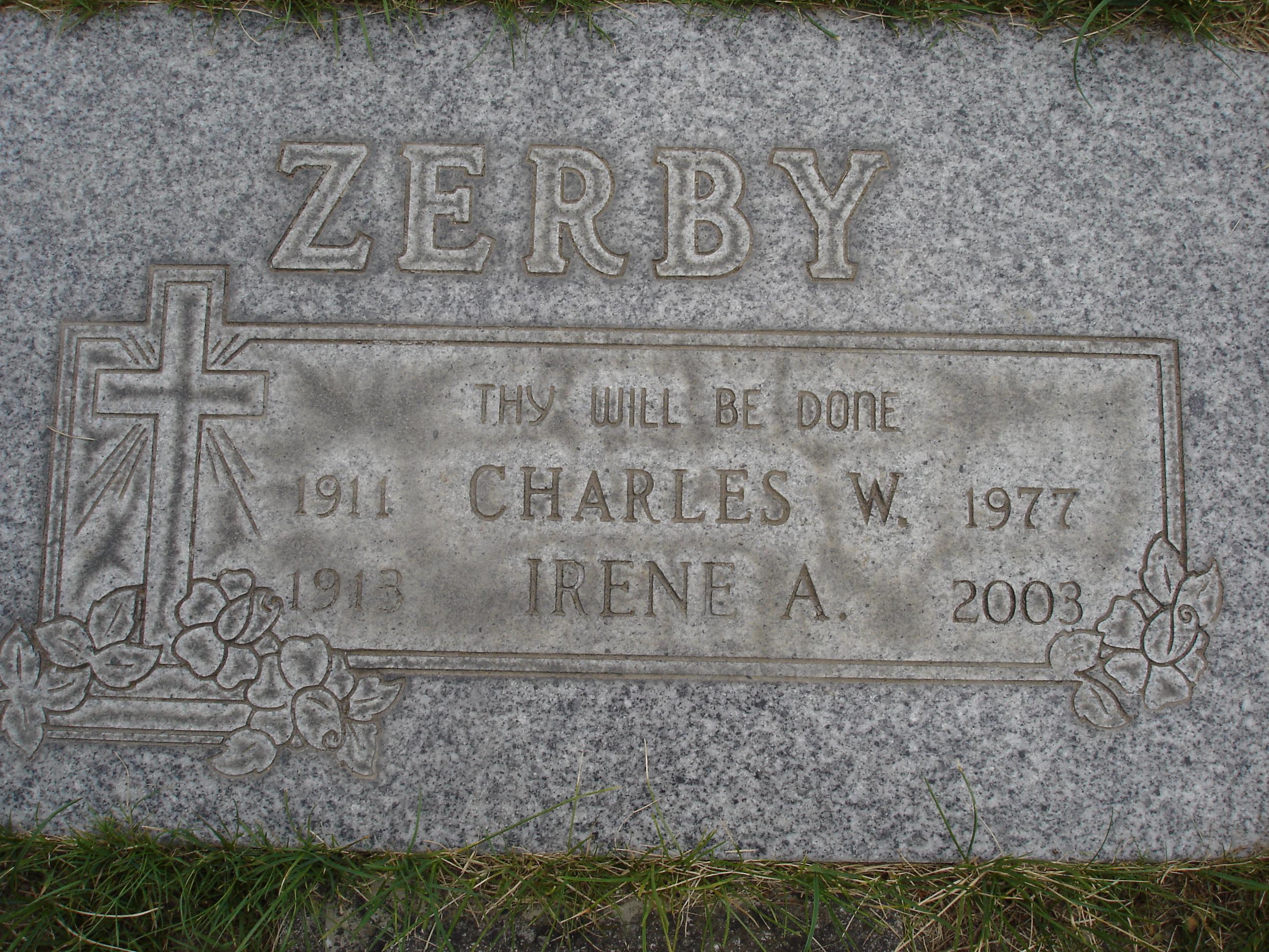 Irene A <i>Reinfort</i> Zerby