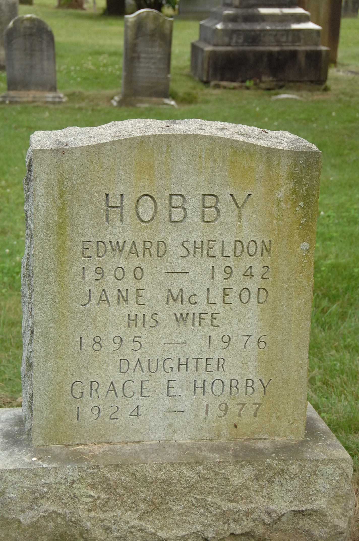 Edward Sheldon Hobby