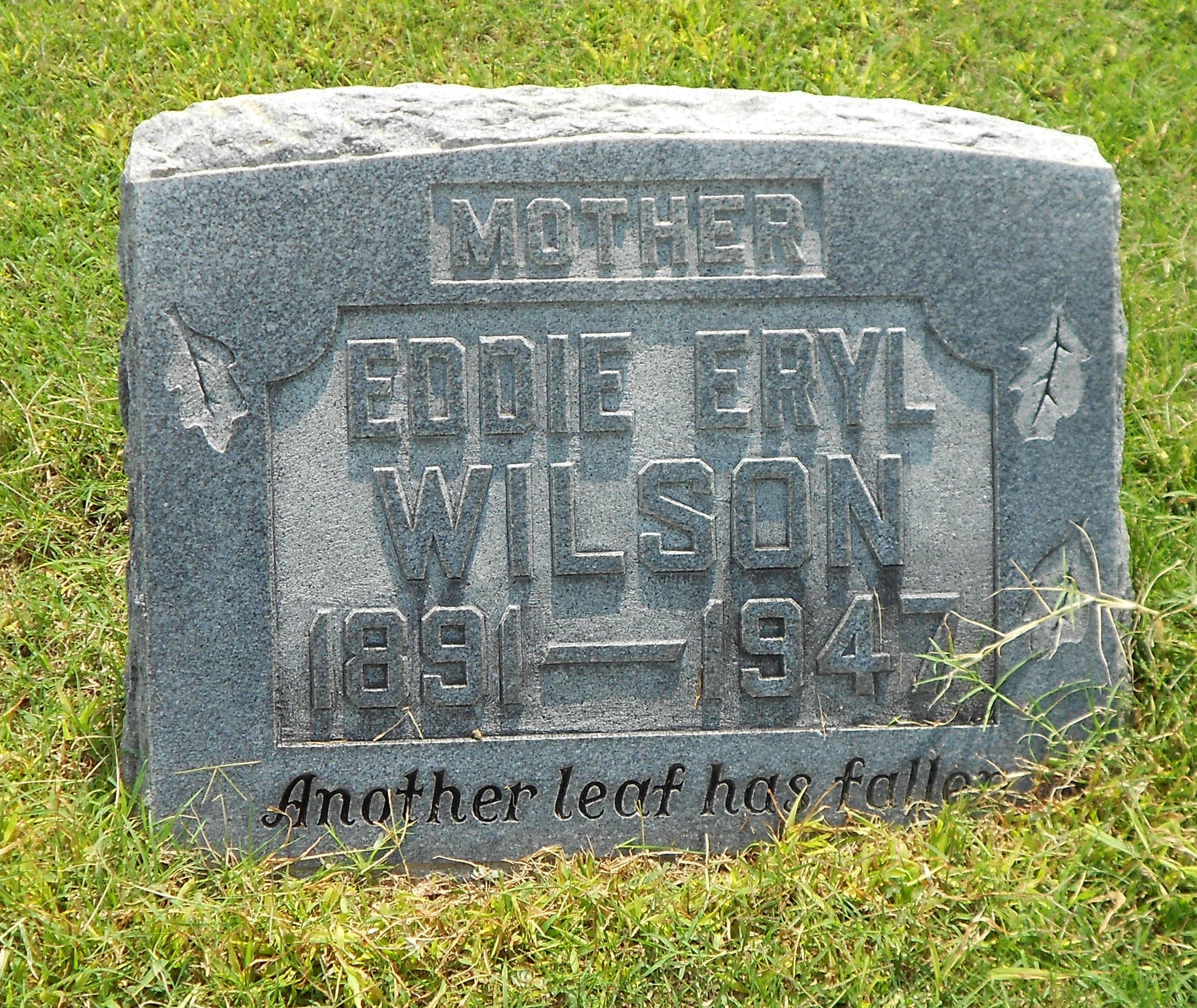 Eddie Eryl <i>McAlilley</i> Wilson