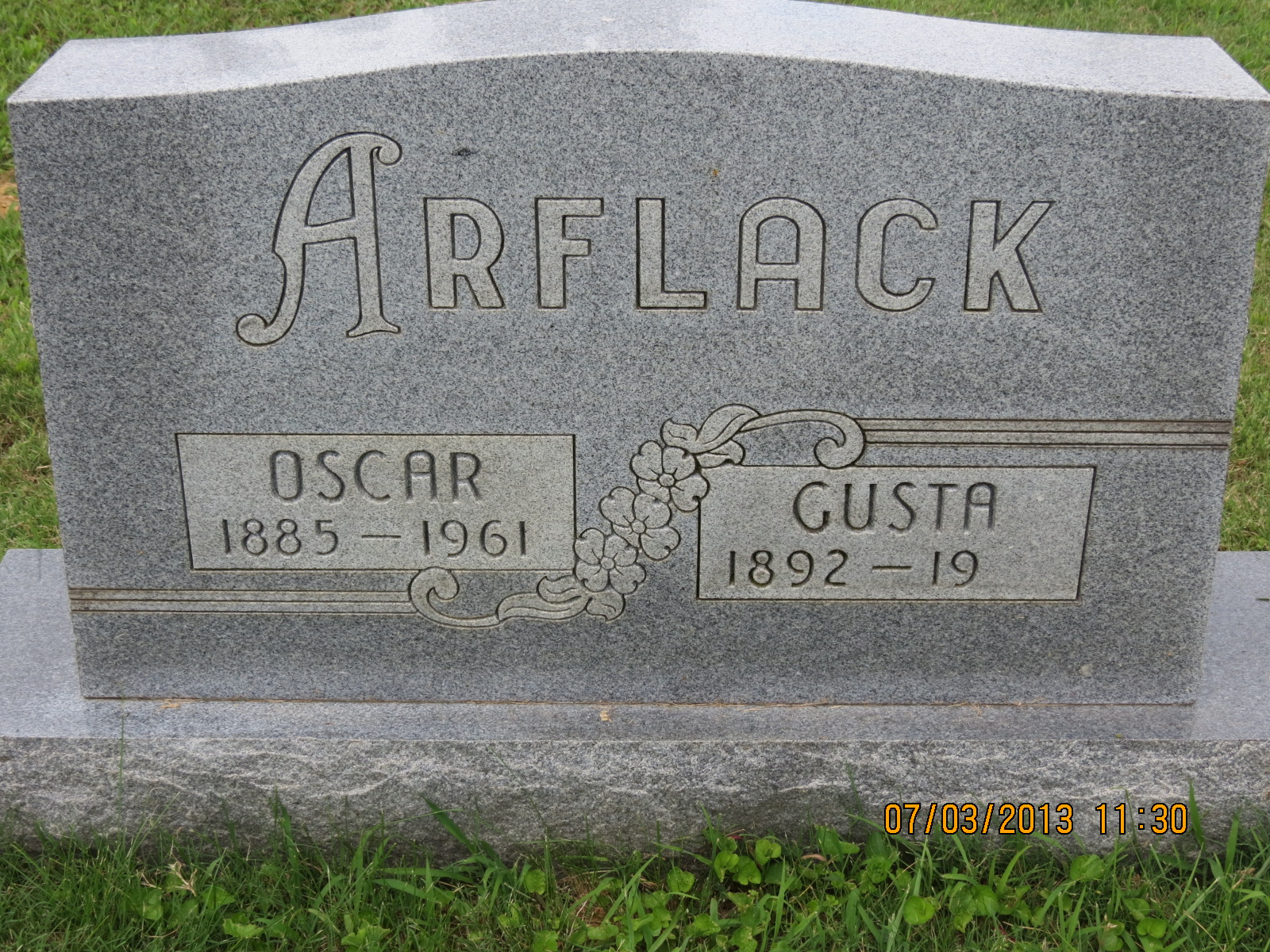 Augusta Gusta <i>Walker</i> Arflack
