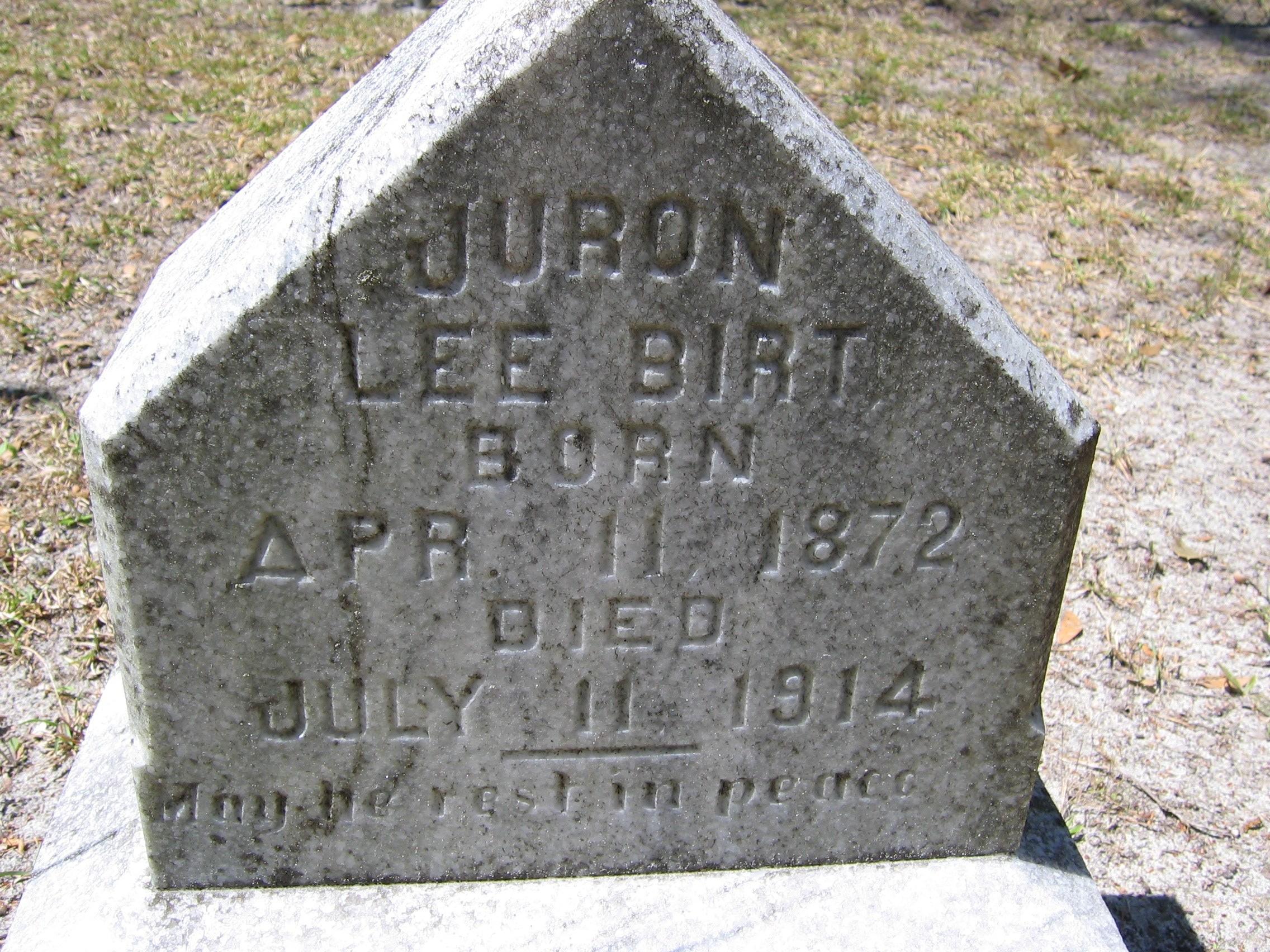 Juron Lee Birt