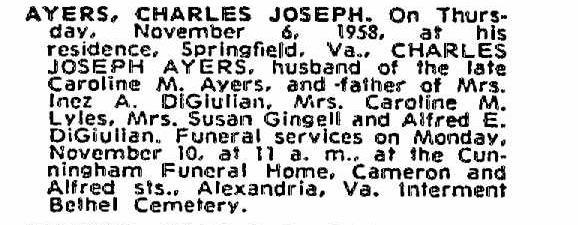 Charles Joseph Ayers