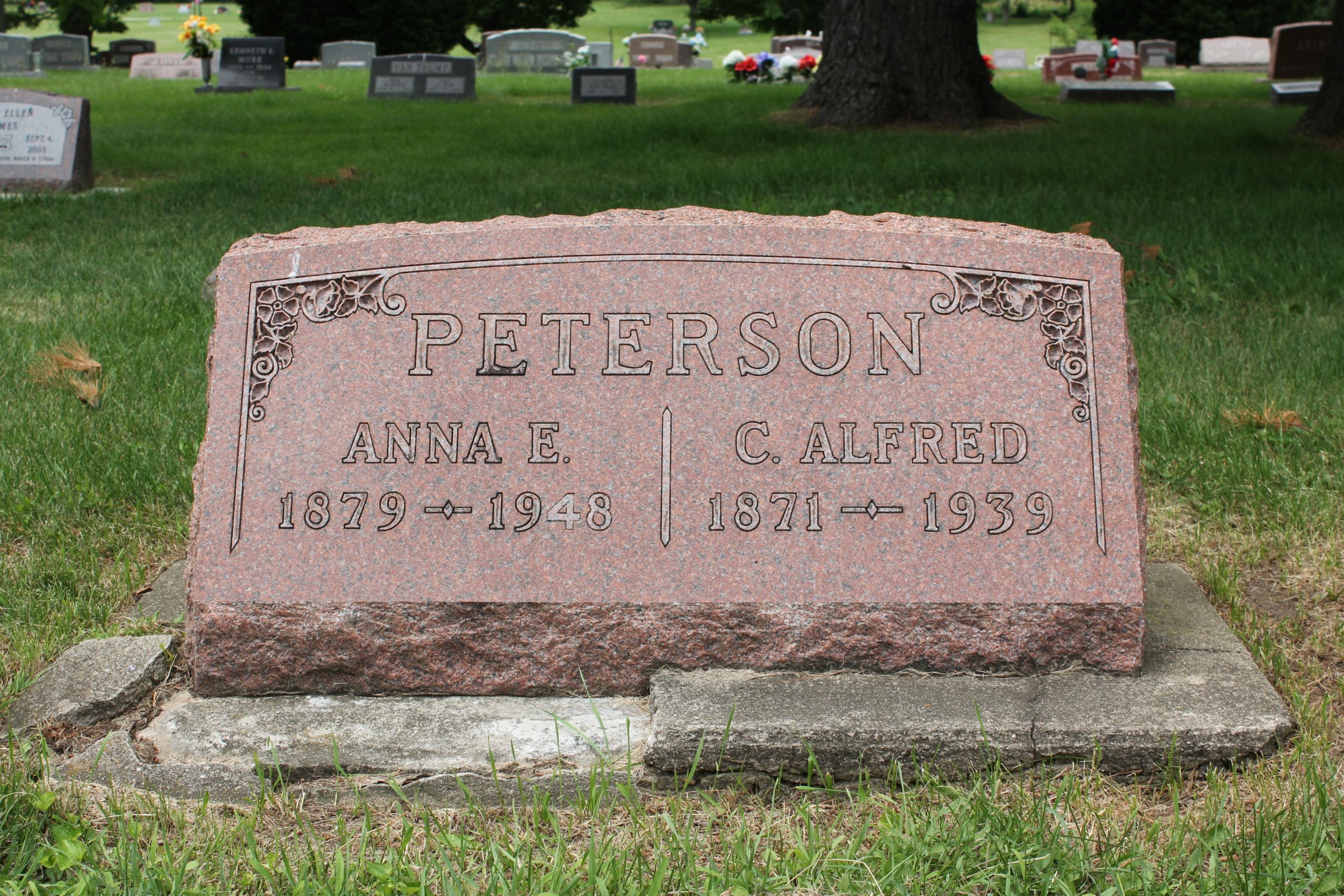 Anna <i>Prusek</i> Peterson