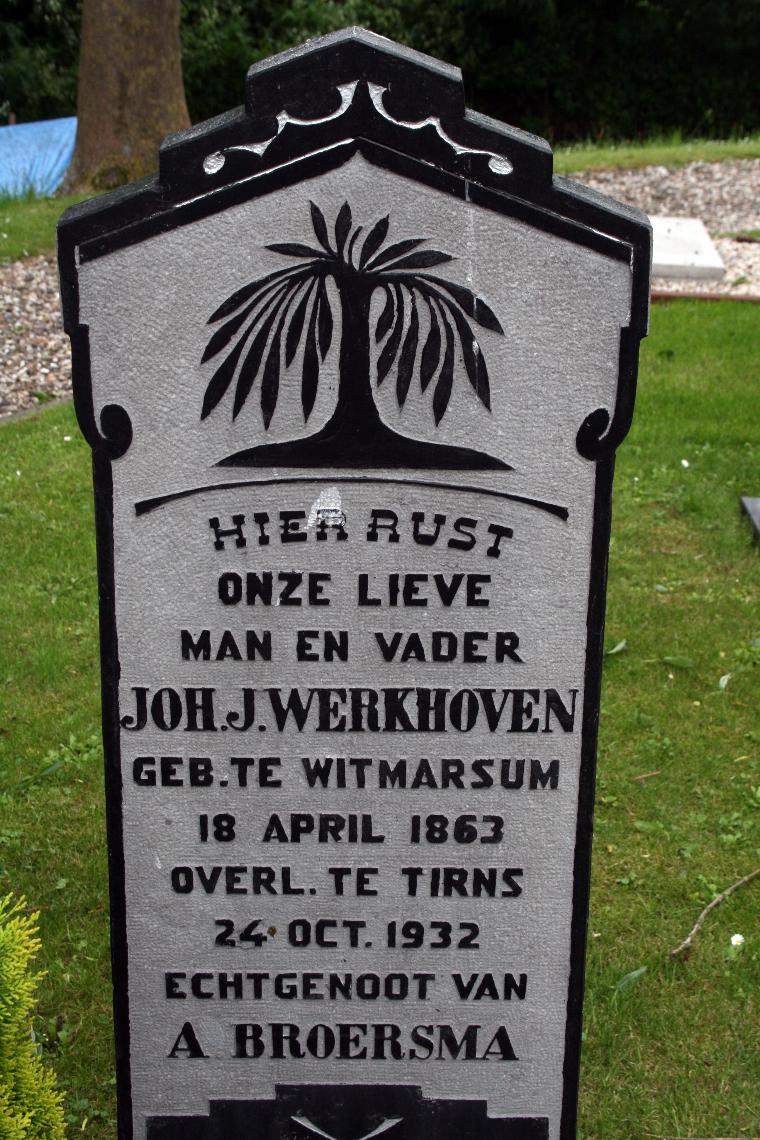 Johannes Jelles Werkhoven