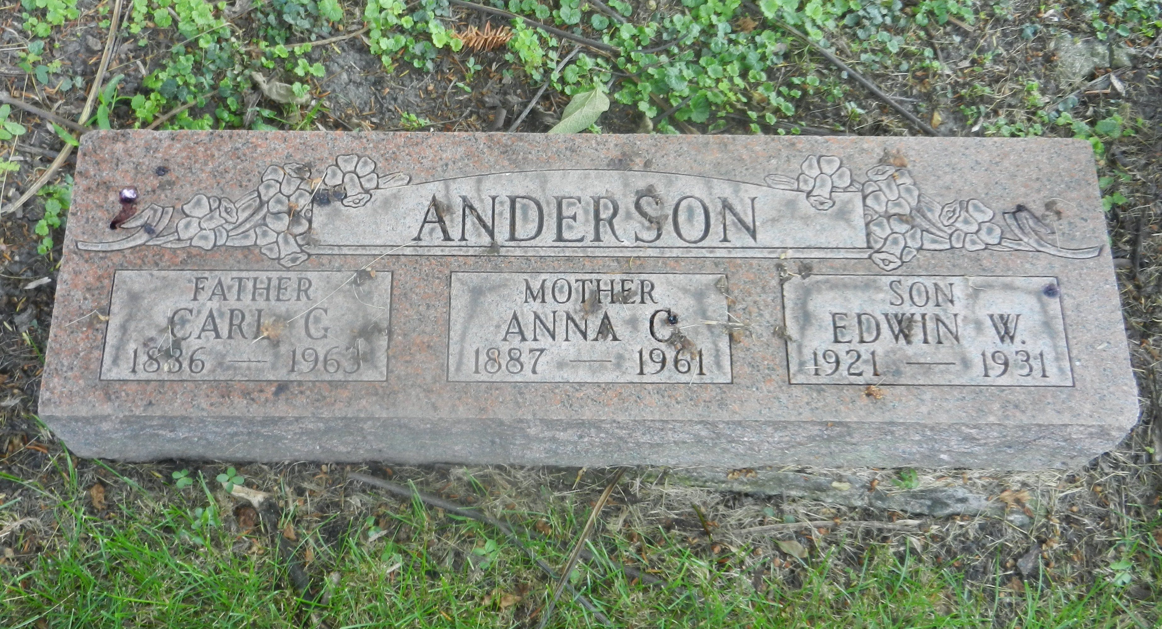 Edwin W Anderson