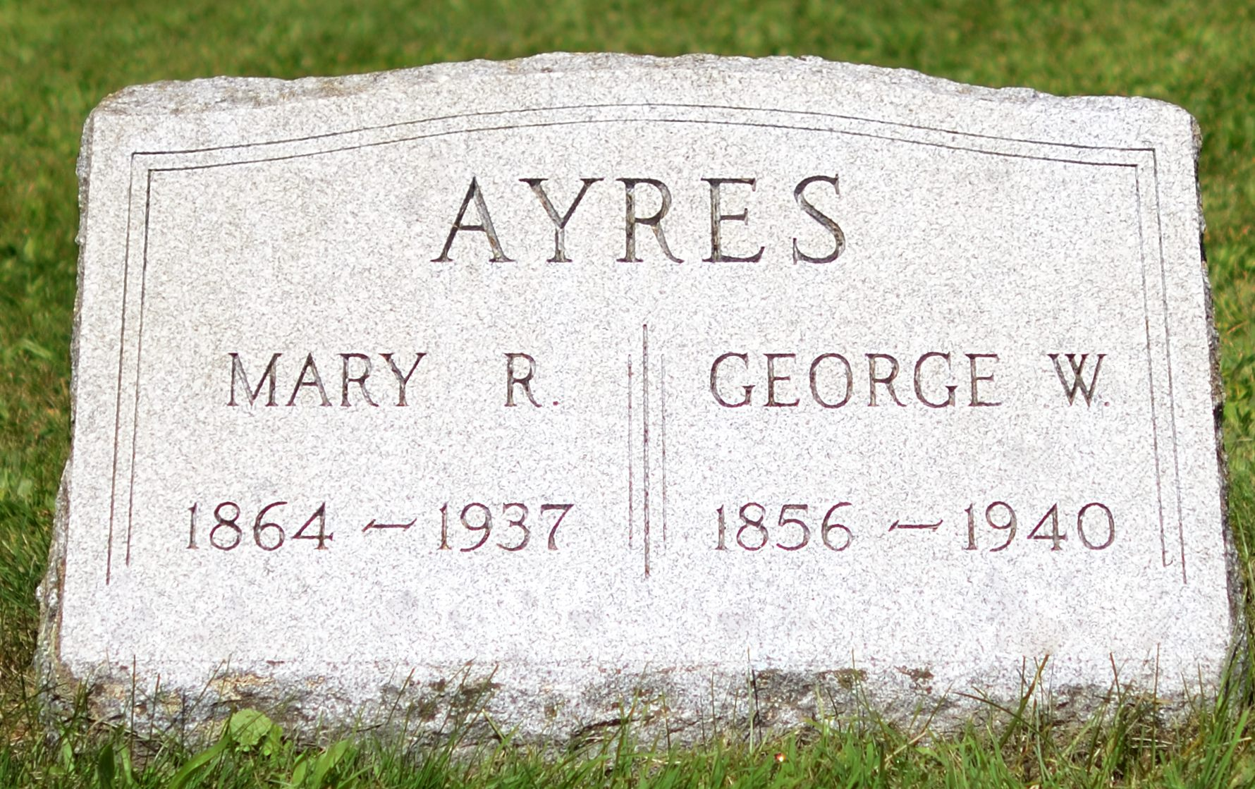 Mary R. <i>Mitchell</i> Ayres