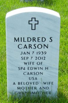 Mildred Sue Toodles Carson