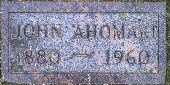 John Samuel Ahomaki