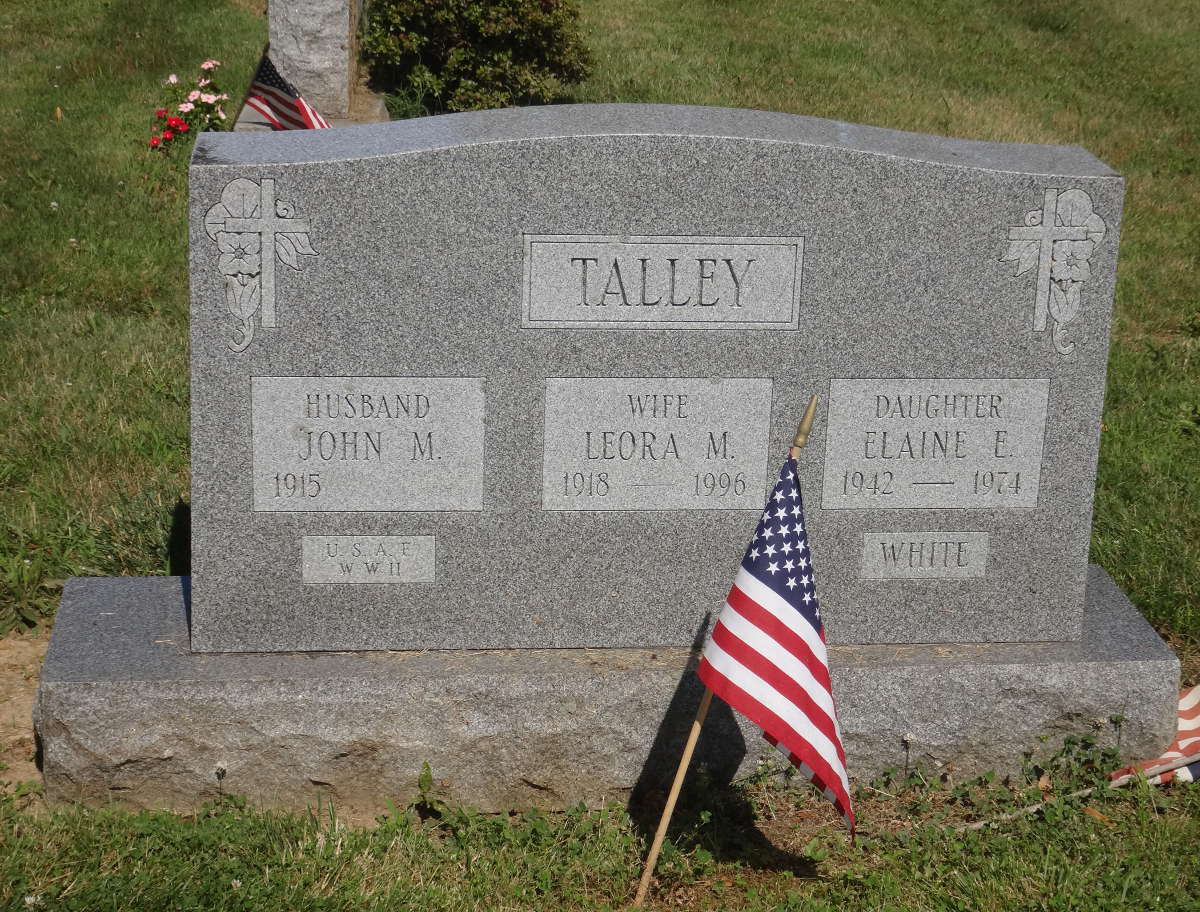Elaine E <i>Talley</i> White