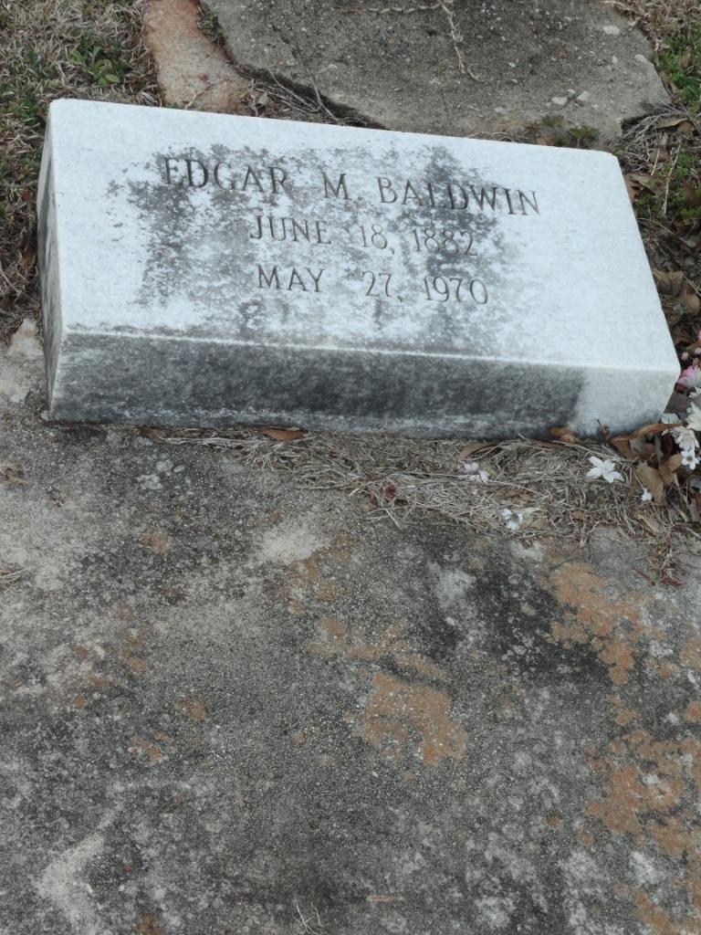 Edgar M Baldwin