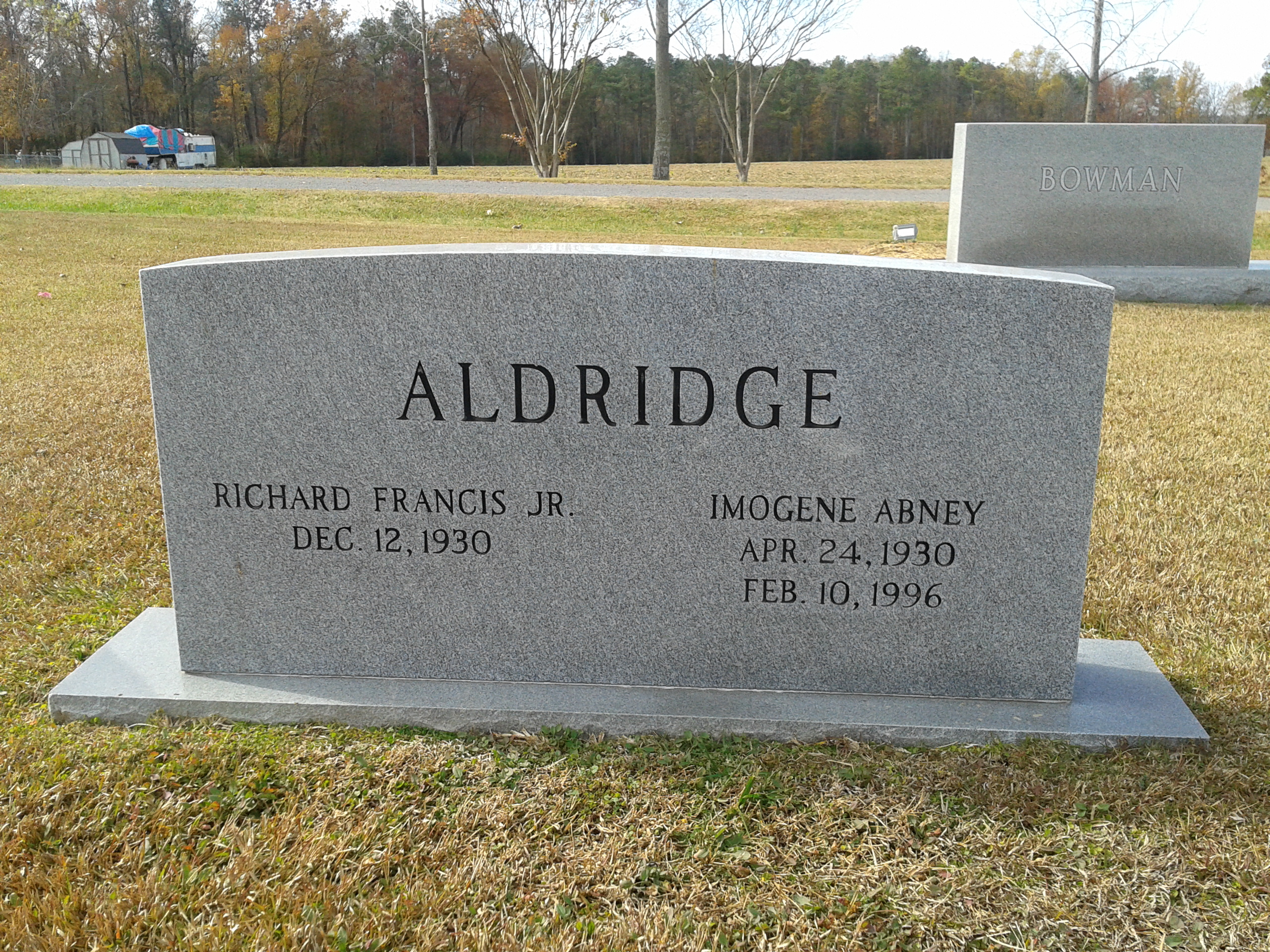 Richard Francis Aldridge, Jr