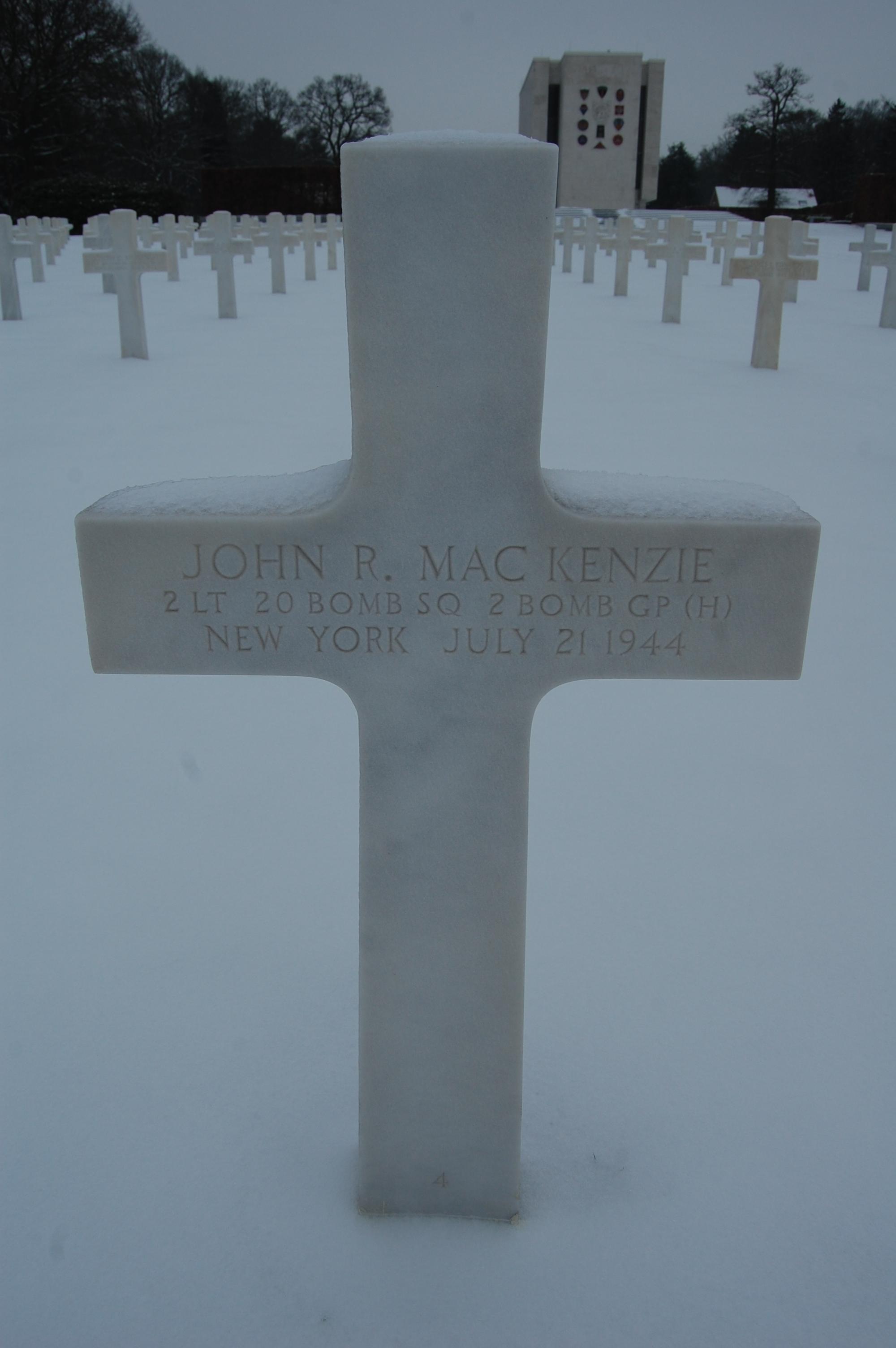 2Lt John R MacKenzie